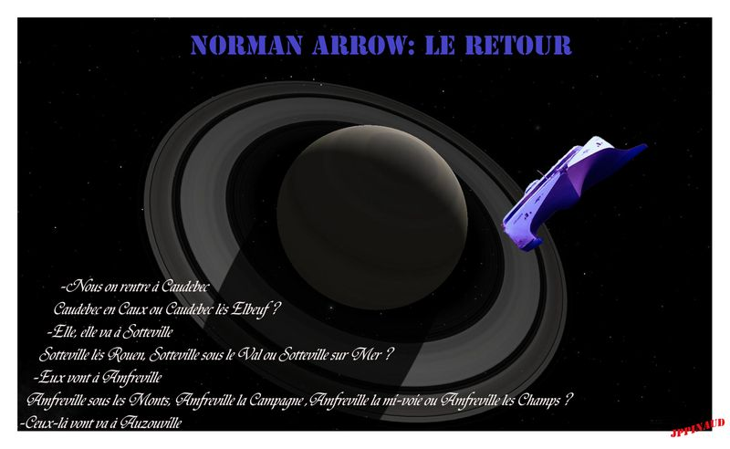 SATURNE&NORMAN ARROW 2
