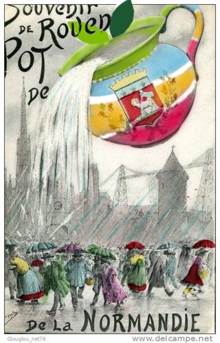 Rouen pot de chambre logo enjoy normandy