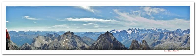 Du haut de la Pointe des Cerces + 3000m